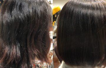 広がる髪質似合う髪型