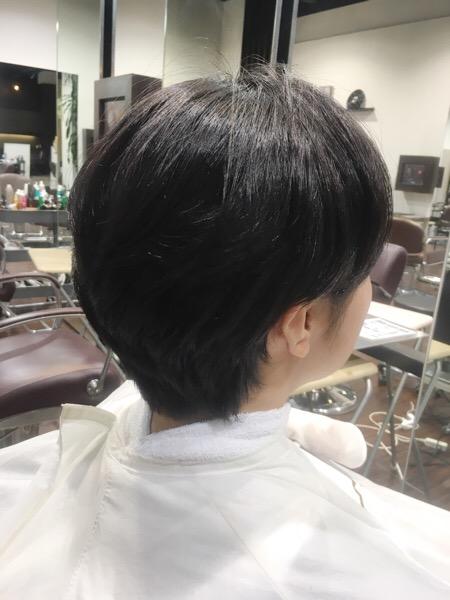 ストカールのショートヘア