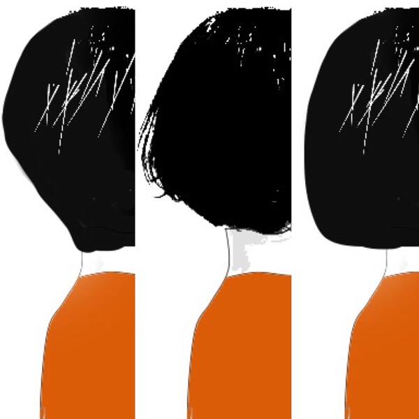首が太い似合う髪型