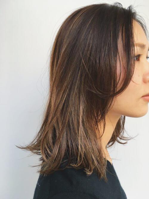 大人っぽい 髪型
